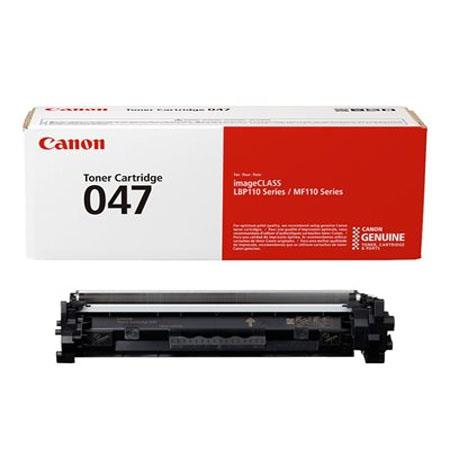 Canon 047BK (2164C001AA) Black Original Toner Cartridge