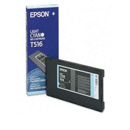 Epson T516011 (T516) Original Light Cyan Ink Cartridge