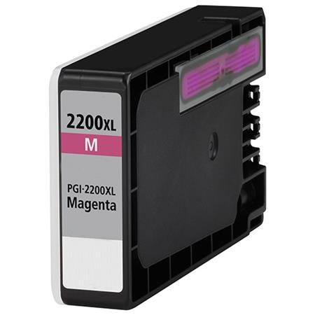 Compatible Magenta Canon PGI-2200XLM Ink Cartridge (Replaces Canon 9269B001)