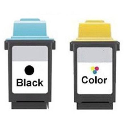 Clickinks No.50/No.60 Full Set + 1 EXTRA Black Remanufactured Ink