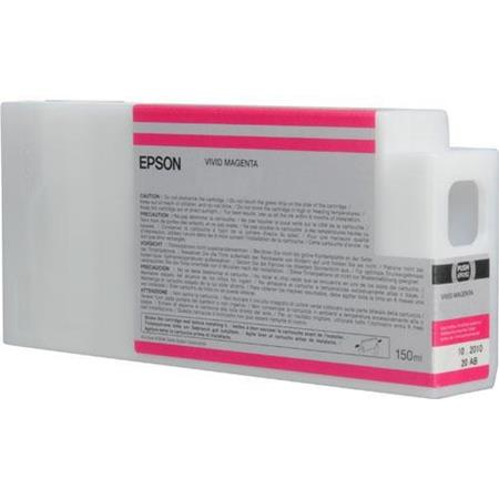 Epson T8343 (T834300) Vivid Magenta Original UltraChrome HDX Ink Cartridge (150 ml)
