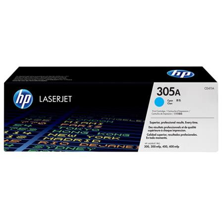 HP 305A Cyan Original Standard Capacity Toner Cartridge ( CE411A)