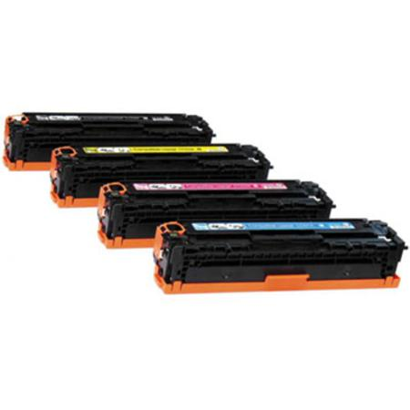 Clickinks CC530A/33A Full Set Remanufactured Toner Cartridges