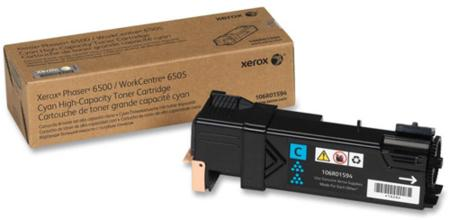 Xerox 106R01594 Cyan Original High Capacity Toner Cartridge