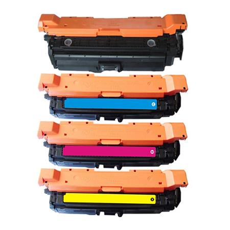654A Full Set Remanufactured Toner Cartridges