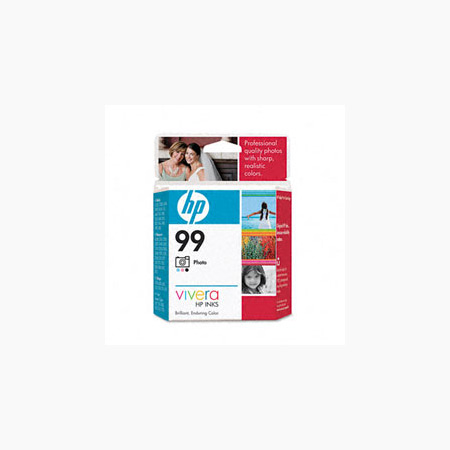 HP 99 Photo Original Inkjet Print Cartridge with Vivera Inks (C9369WN)