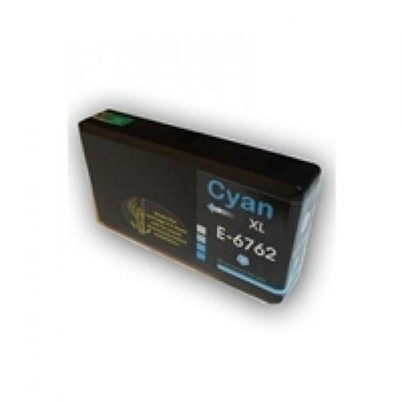 Compatible Cyan Epson T676XL Ink Cartridge (Replaces Epson T676XL220)