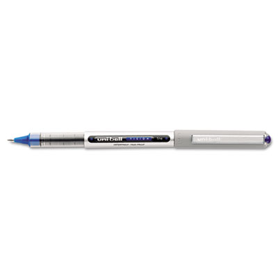 Vision Roller Ball Stick Water-Proof Pen  Blue Ink  Fine  Dozen