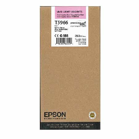 Epson T5966 Vivid Light Magenta Original Ink Cartridge