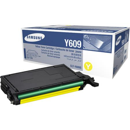 Samsung CLT-Y609S Yellow Original High Yield Toner Cartridge