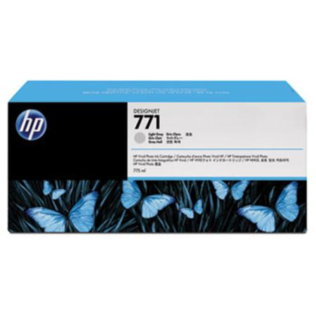 HP 771 (CR257A) Original Light Gray Inkjet Cartridge - 3  PACK