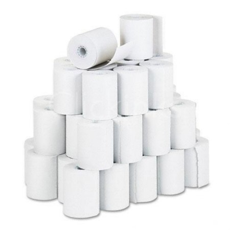 PM Company Recycled Cash RegisterPOS OnePly Receipt Roll 3.25 inchw 150l White 50ctn
