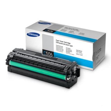 Samsung CLT-C506L/ELS Cyan Original High Yield Toner Cartridge