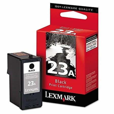 Lexmark No. 23A (18C1623) Black Original Print Cartridge
