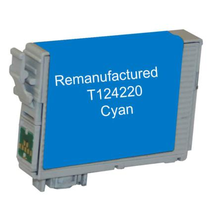 Epson 124 Cyan Remanufactured Moderate Capacity Ink Cartridge
