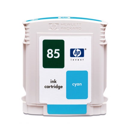 HP 85 Cyan Remanufactured Inkjet Cartridge (C9425A)