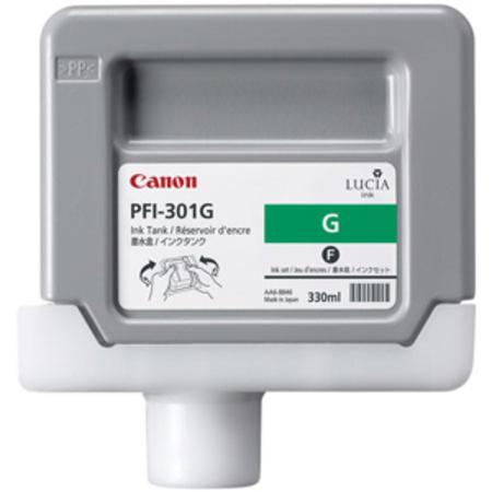 Canon PFI-301G (1493B001) Original Green Ink Cartridge