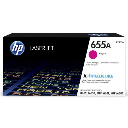 HP 655A (CF453A) Magenta Original Standard Capacity Toner Cartridge