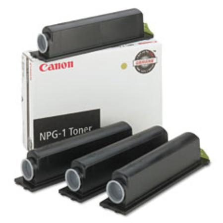 Canon NPG-1 Original Black Toner Cartridge 4/Pack (1372A006AA)