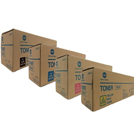 TN613 K/C/M/Y Full Set Original Toner Cartridges