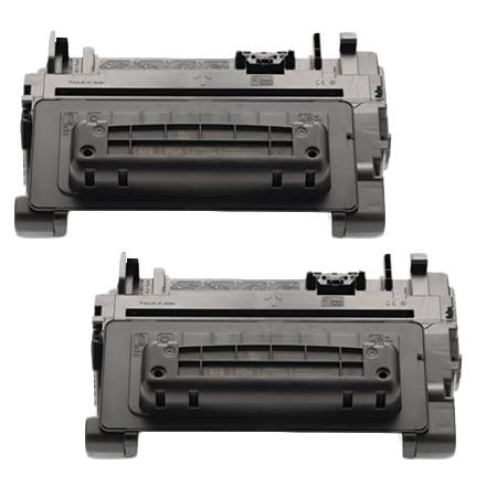 Compatible Twin Pack HP 90A Black Standard Capacity Toner Cartridges