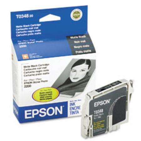 Epson T0348 (T034820) Original Matte Black Ink Cartridge
