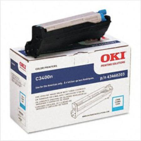 OKI 43460203 Cyan Original Drum Unit
