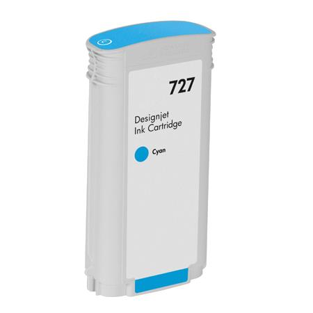 Compatible Cyan HP 727 High Yield Ink Cartridge (Replaces HP B3P19A)