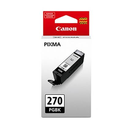 Canon PGI-270PGBK Pigment Black Original Standard Capacity Ink Cartridge