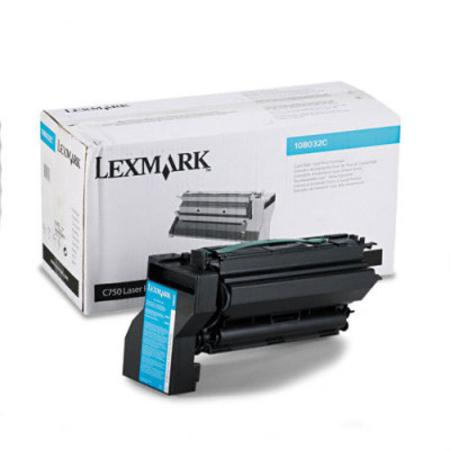 Lexmark 10B032C Original Cyan High Yield Toner Cartridge