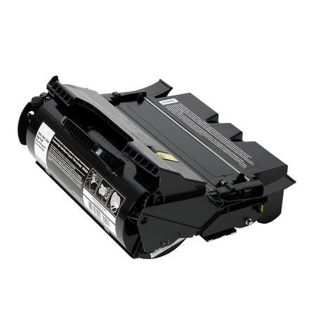 Lexmark 12A6736 Black Remanufactured Micr Toner Cartridge
