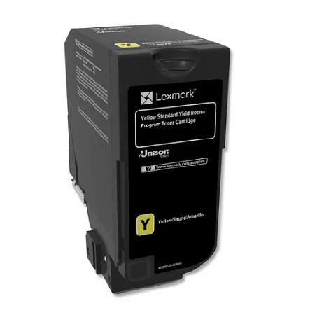 Lexmark 74C10Y0 Yellow Original Toner Cartridge