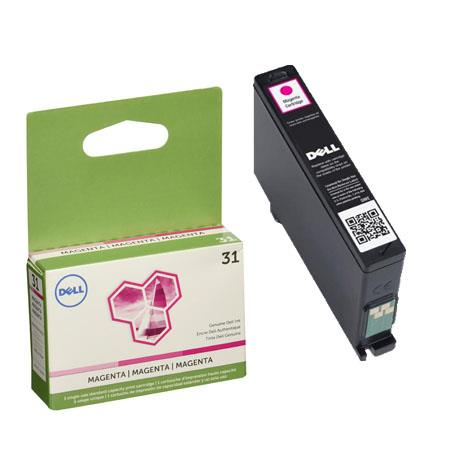 Dell 331-7690 (Series 31) Original Magenta Standard Capacity Single Use Ink Cartridge (WK32Y)