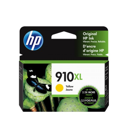 HP 910XL (3YL64AN) Yellow Original High Capacity Ink Cartridge