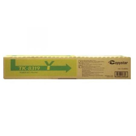 Copystar TK-8319Y Yellow Original Toner Cartridge