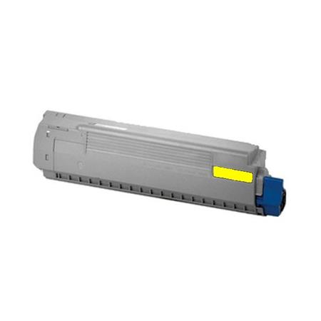 OKI 44059109 (Type C14) Yellow Remanufactured Laser Toner Cartridge