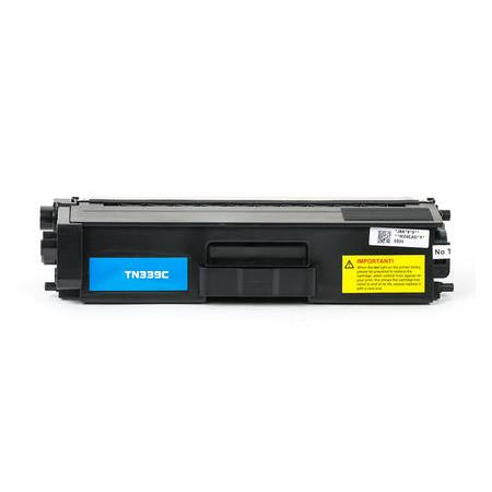 Compatible Cyan Brother TN339C Extra High Yield Toner Cartridge