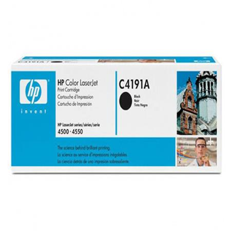 HP Color LaserJet C4191A Black Original Toner Cartridge with Ultraprecise Technology