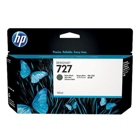 HP 727 Matte Black Original High Capacity Ink Cartridge
