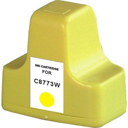 HP 02 Yellow Remanufactured Ink Cartridge (C8773WN)