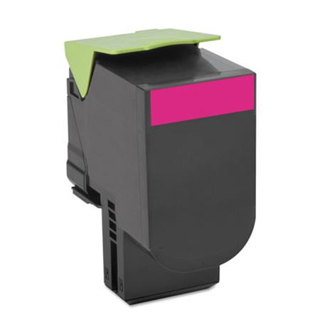 Compatible Magenta Lexmark 70C1HM0 High Yield Toner Cartridge