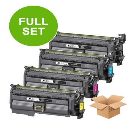 653X/653A Full Set Remanufactured Toner Cartridges