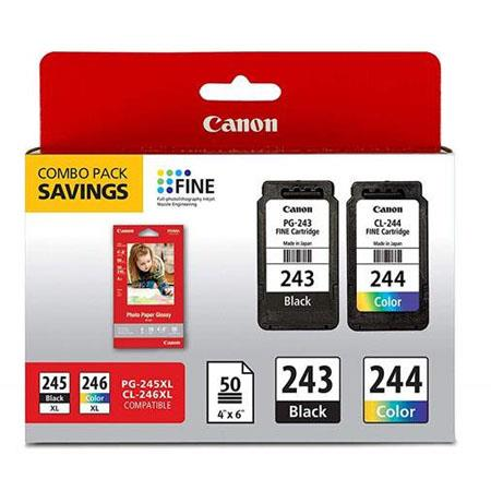 Canon PG-243/CL-244 Black/Colour Multipack Original Ink Cartridges (1287C006)