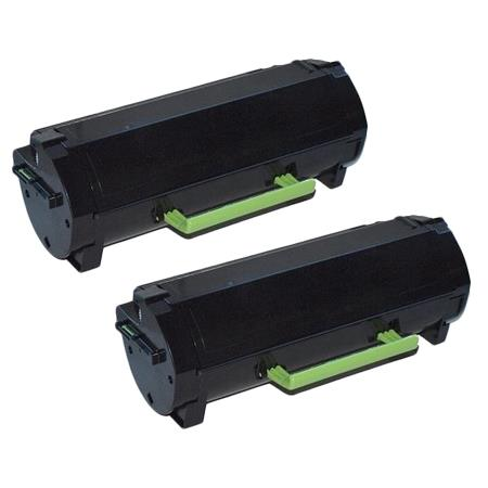 TNP-39 Black Remanufactured Toner Cartridge Twin Pack