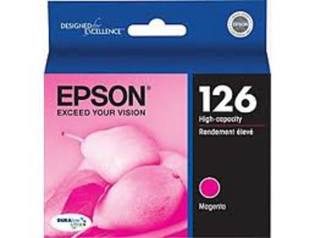 Epson 126 Magenta Original High Capacity Ink Cartridge