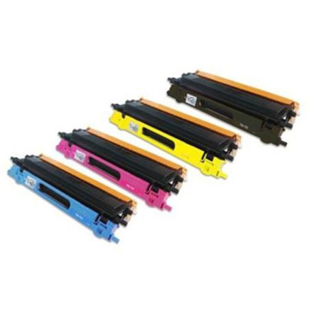 Compatible Multipack Brother TN115BK/C/M/Y Full Set Toner Cartridges