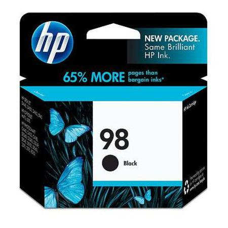 HP 98 Black Original Inkjet Print Cartridge (C9364WN)