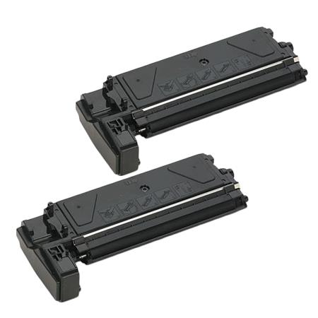 Clickinks 411880 Black Remanufactured Toner Cartridge Twin Pack
