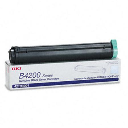 OKI 42103001 Black Original Laser Toner Cartridge