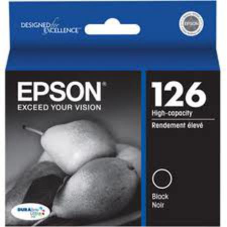 Epson 126 Black Original High Capacity Ink Cartridge